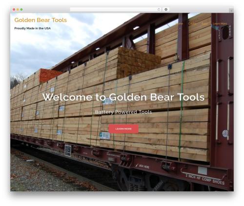 WordPress theme Sydney - goldenbeartools.com