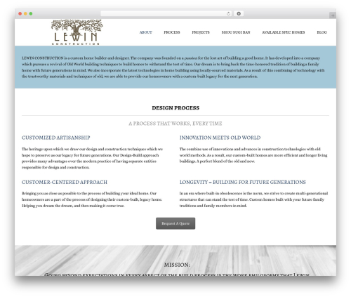 WP template Conica - lewinconstruction.com