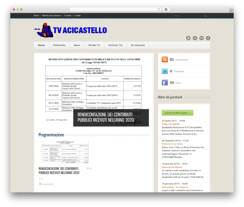 Bangkok Press WordPress theme - tvacicastello.it