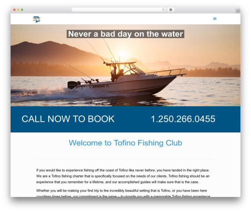 Betheme best WordPress theme - tofinofishingclub.com