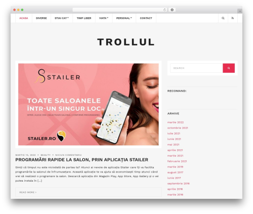 Brittany Light WP template - trollul.eu