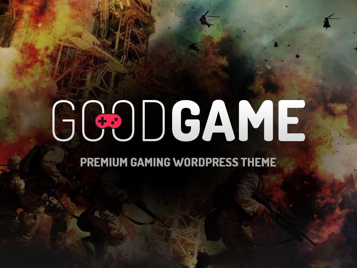 GoodGame newspaper WordPress theme