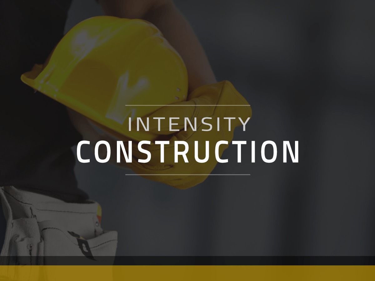 Intensity Child - Construction theme WordPress