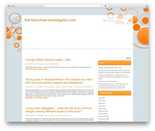 Js O4w best WordPress theme - the-franchise-investigator.com