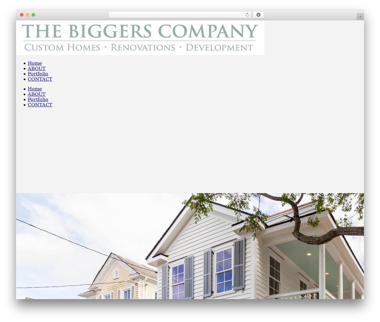 Jupiter business WordPress theme - thebiggerscompany.com