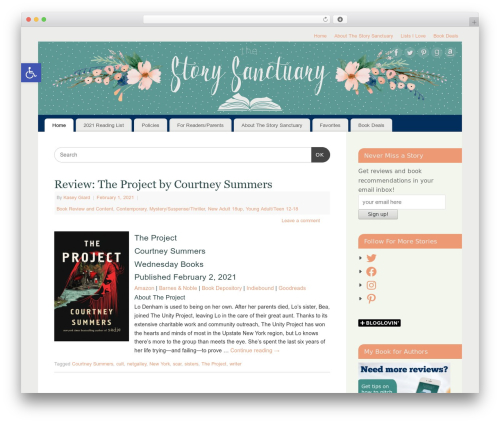 Free WordPress WP-PageNavi plugin - thestorysanctuary.com