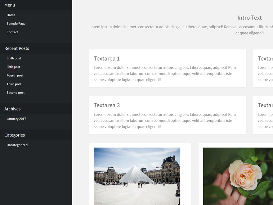 Max Teaching WordPress page template