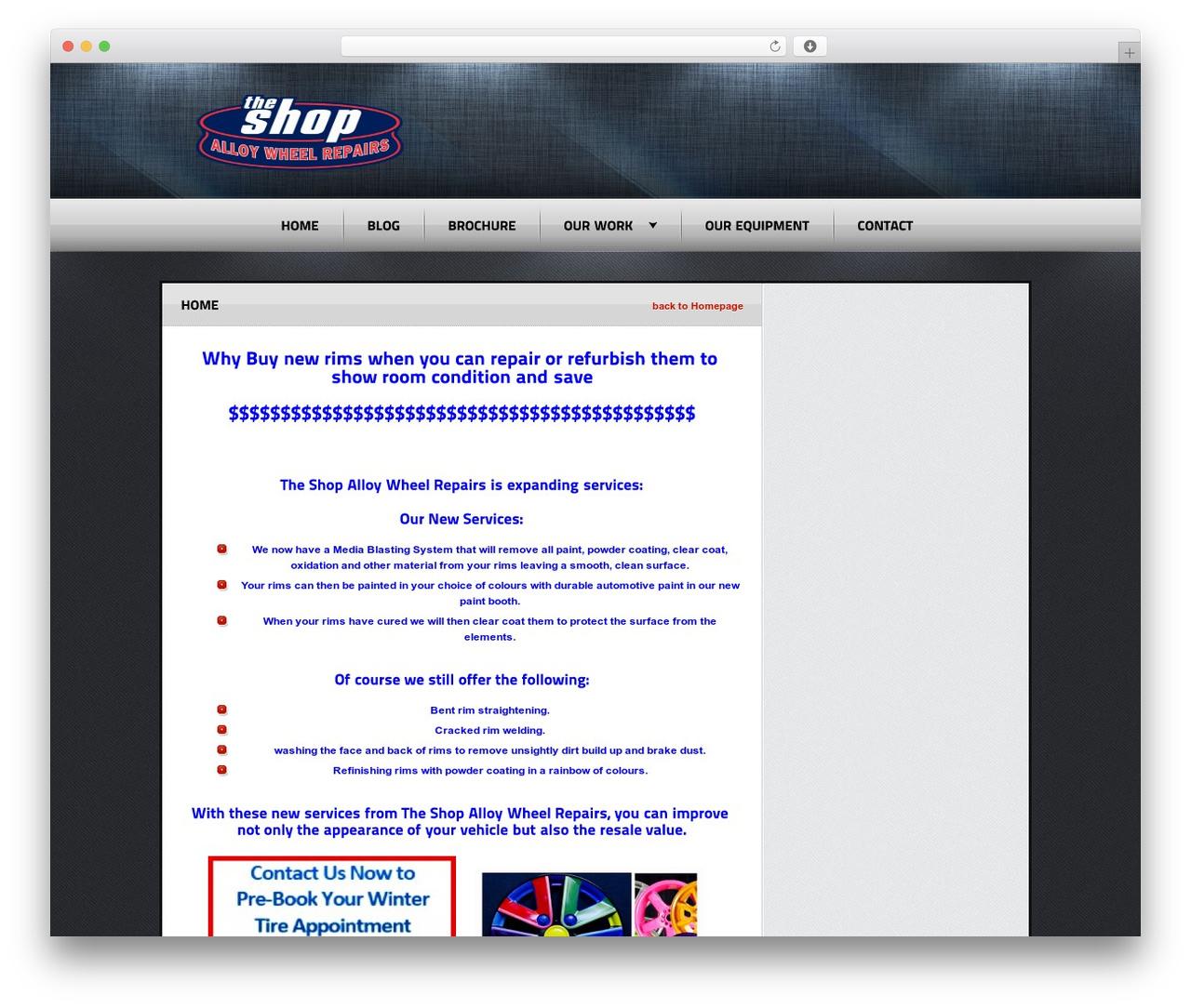 Radial Premium Theme WordPress shop theme - theshopalloy.ca