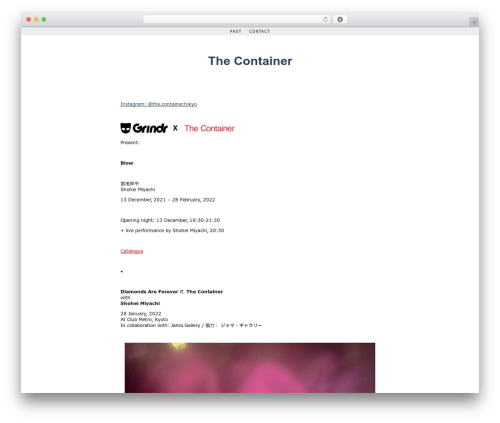 Simplr premium WordPress theme - the-container.com