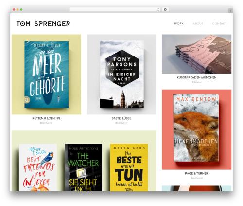 Theme WordPress Semplice - tomsprenger.com