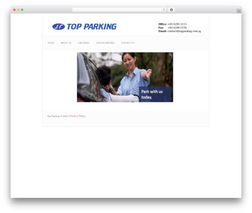 twentyseventeen child WordPress theme - topparking.com.sg
