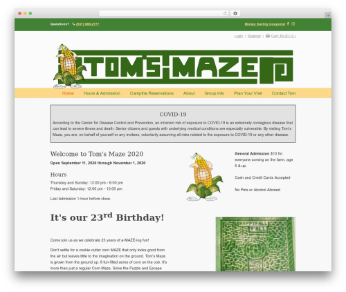 Free WordPress WP-PageNavi plugin - tomsmaze.com