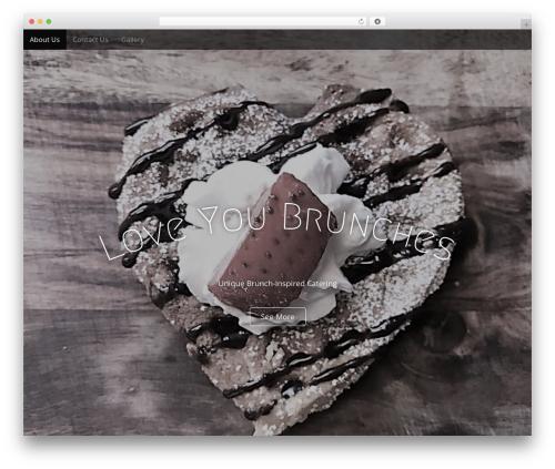 Arcade Basic company WordPress theme - lybrunches.com