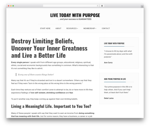 Avani WordPress free download - livetodaywithpurpose.com