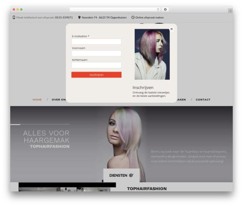 Durand WordPress theme - tophairfashion.nl