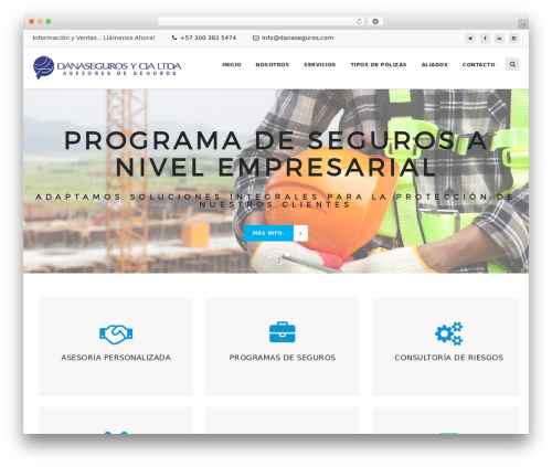 IODtheme premium WordPress theme - danaseguros.com