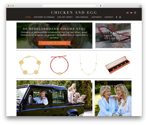 Salient best WordPress template - chickenandegg.com