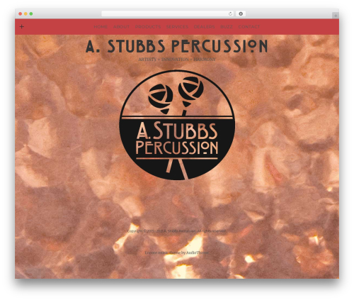 Theme WordPress Encore - stubbspercussion.com