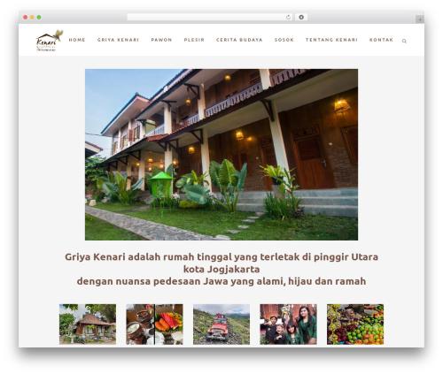 WordPress template Bridge - kenariguesthouse.com