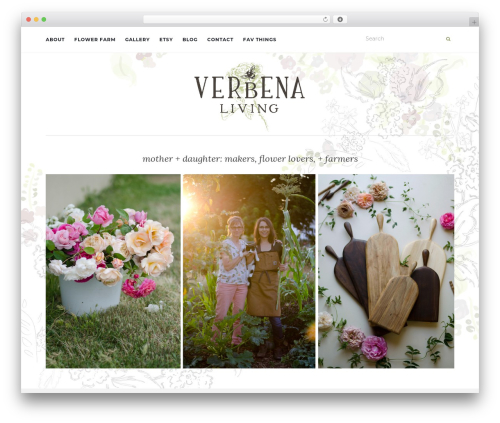 Activello WordPress theme - verbenaliving.com
