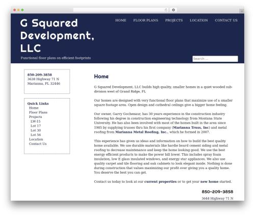eyesite template WordPress free - gsquareddevelopment.com