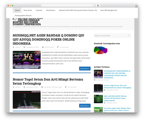 ktz freak WordPress theme - jurnalpoker.com