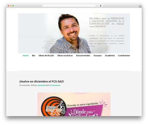 Template WordPress Corporate Portfolio Pro - christianoquendo.com