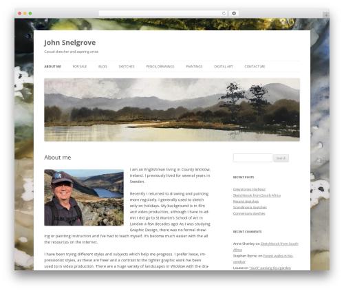 WordPress template Twenty Twelve - johncharleshenry.com