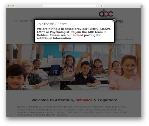 WordPress theme Playful - abcholden.com