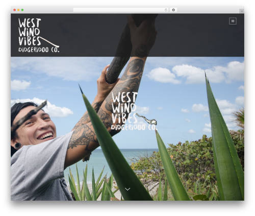 WP template Lumos - westwindvibes.com
