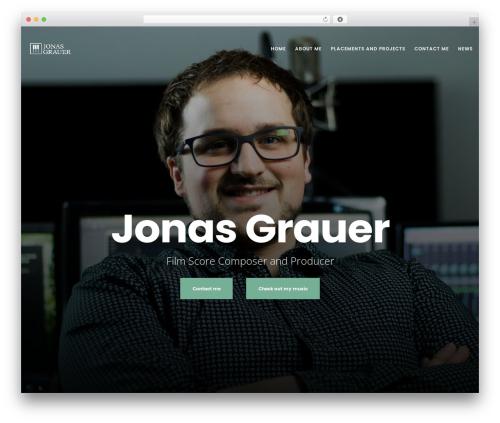 Best WordPress template Movedo - jonasgrauer.com