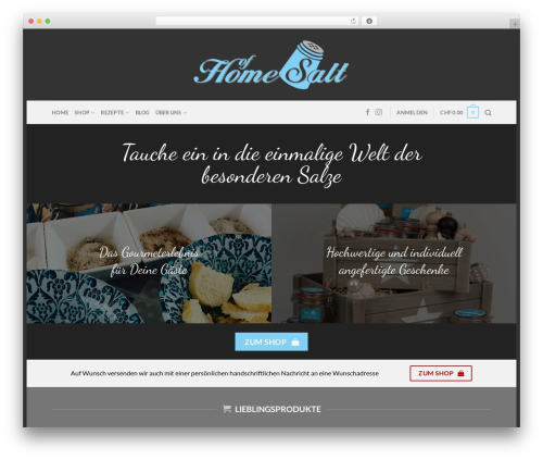 WordPress woocommerce_postfinancecw plugin - homeofsalt.com