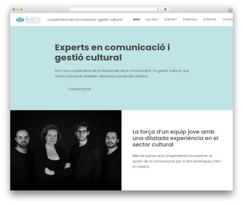 Genesis WP template - barccomunicacio.com