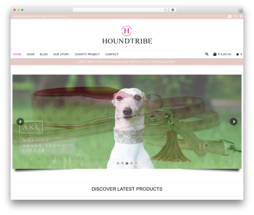 Neighborhood premium WordPress theme - houndtribe.com