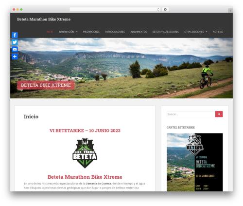 Sparkling template WordPress free - betetabikextreme.com