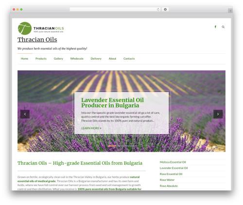 Speedy WordPress template free - thracianoils.com