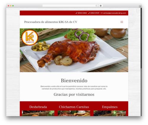 Betheme WordPress theme - procesadorakrg.com