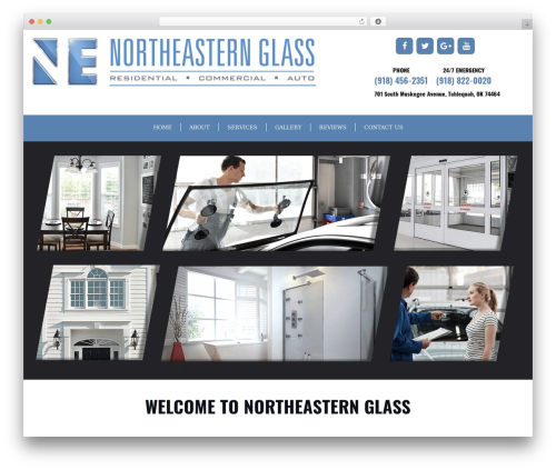 GeneratePress WordPress ecommerce theme - northeasternglass.com