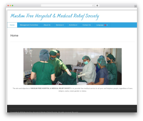health-center-lite WordPress free download - muslimfreehospitalandmedicalreliefsociety.com