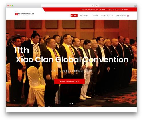 Logistix WordPress template - xiao-international.com