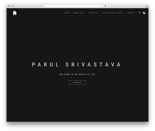 ShopIsle PRO WordPress page template - parulsrivastava.com