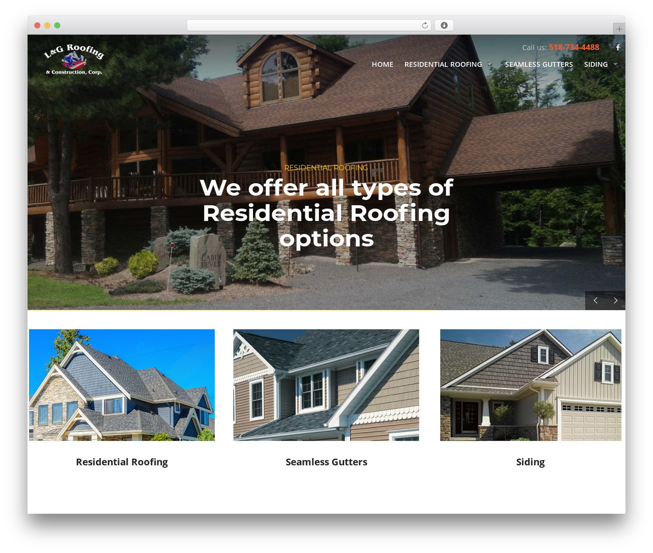 Template Wordpress Roofing By Mymoun Windhamroofs Com