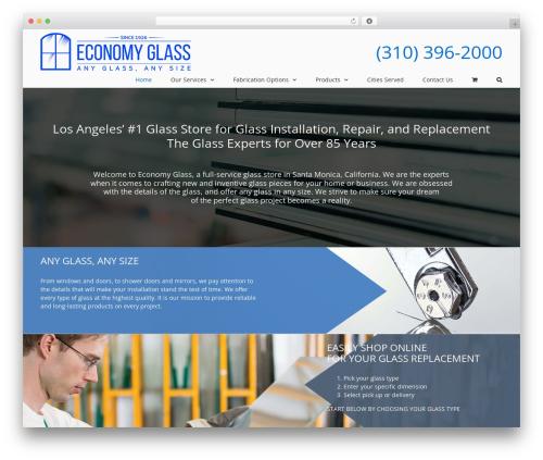 Avada best WooCommerce theme - economyglasscowest.com