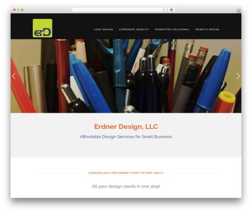 Encase Pro company WordPress theme - erdner.com