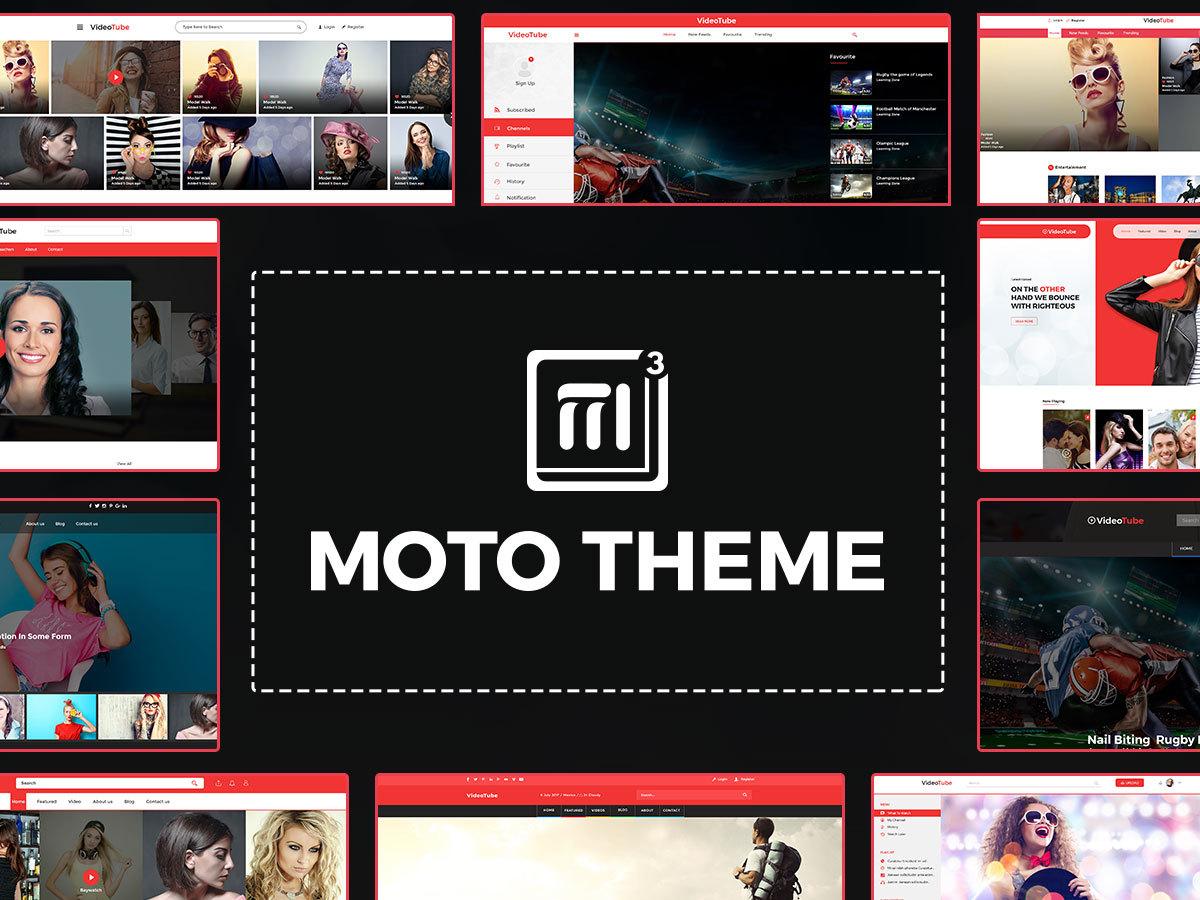 MOTO Theme V3 WordPress blog theme