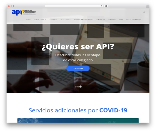 Template WordPress Modular - coapimurcia.es