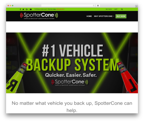 The Retailer template WordPress - spottercone.com