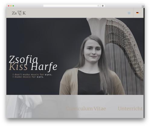 Theme WordPress Betheme - harfemusik.com