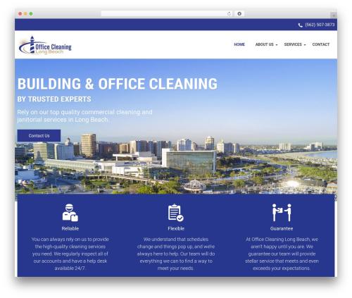 WP Maxclean theme WordPress - officecleaninglongbeach.com