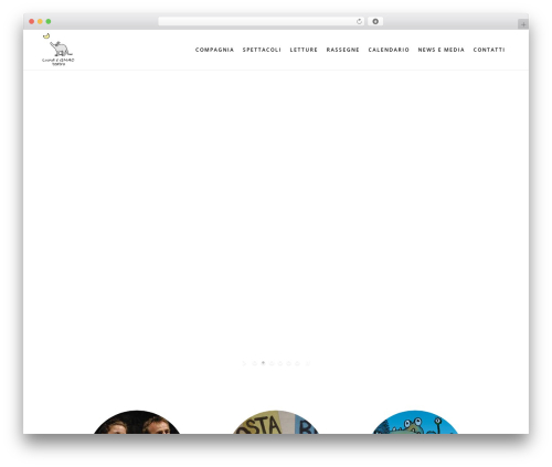Bridge WordPress theme - lunaegnac.com
